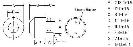 Open Structure Ultrasonic Sensor TA0040182T-R_1