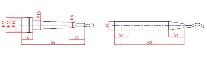 TCD Doppler Sensor blood flow meter_3